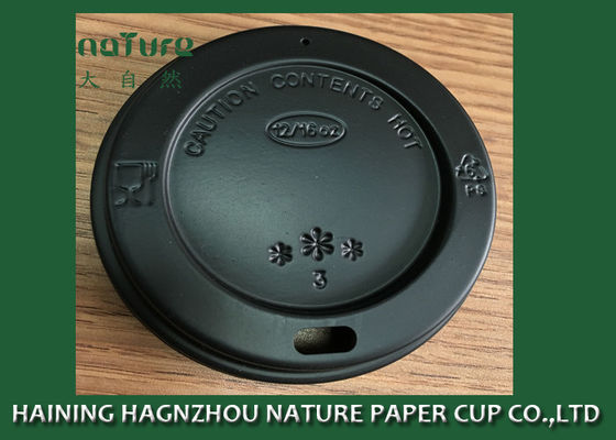 3.5g Round Shape Disposable Coffee Lids PS Material FDA Certification