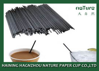 China Coffee Paper Cup Hot Beverage Straws Heat Insulation With SGS Approval supplier