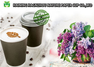 China Hot Beverage Double Wall Paper Cups 400 ML Biodegradable Eco Friendly supplier