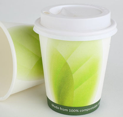 China Biodegradable PLA Paper Cups Custom Printed 12 Oz ISO9001 Certification supplier