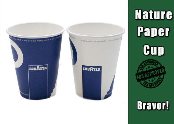 Eco Friendly Biodegradable Paper Cups , Small Printed Disposable Paper Cups