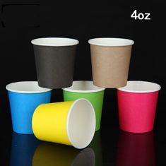 China Recyclable Biodegradable Paper Coffee Cups Small Size For Water / Coffee supplier