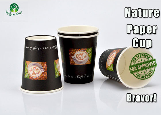 China Colored Compostable PLA Paper Cups Food Grade Eco Friendly For Ice Cream supplier