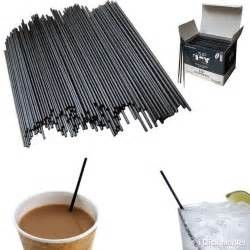 Stirring Rods Hot Beverage Straws Heat Insulation For Party / Wedding