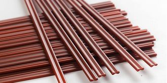 China Disposable CoffeeHot Beverage Straws Two Holes Stirring Rods For Party Festival supplier