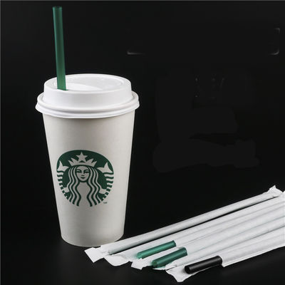 China Direct Suction Starbucks Replacement Straws , Hard Green Starbucks Plastic Straws factory