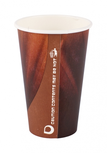 Double Wall 12 Oz Vending Paper Cups For Iced Coffee / Cool Chocalate